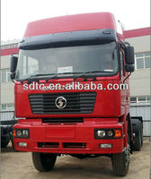 AWD 6-6 shaanxi SHACMAN tractor truck SX4254JX385RC