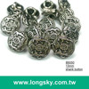 (#B6050/13mm) 20L royalty stylish small shank buttons for jacket