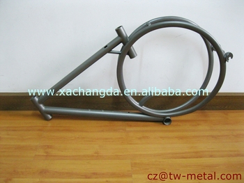 OEM Titanium road bicycle frame customized bike part