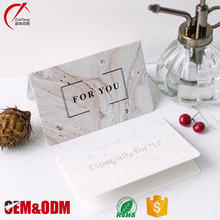 China factory OEM paper greeting card