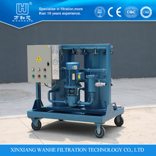customized vacuum transformer oil filtering machine