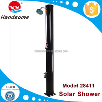 Pool equipment solar water shower panels for swimming