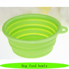 Plastic dog bowl with stand, pet plastic bowl with handle, dog food bowls