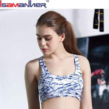 Design your own fitness clothing cheap sexy sports bra fitness