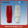 For Agriculture PVC White Spring Foot Valve