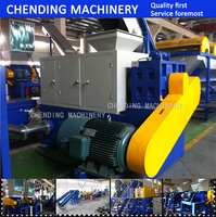 500kg/h automatic Plastic PP/PE film flakes squeezing dryer machine factory