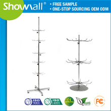 Commercial rotating jewelry / boutique display rack stand