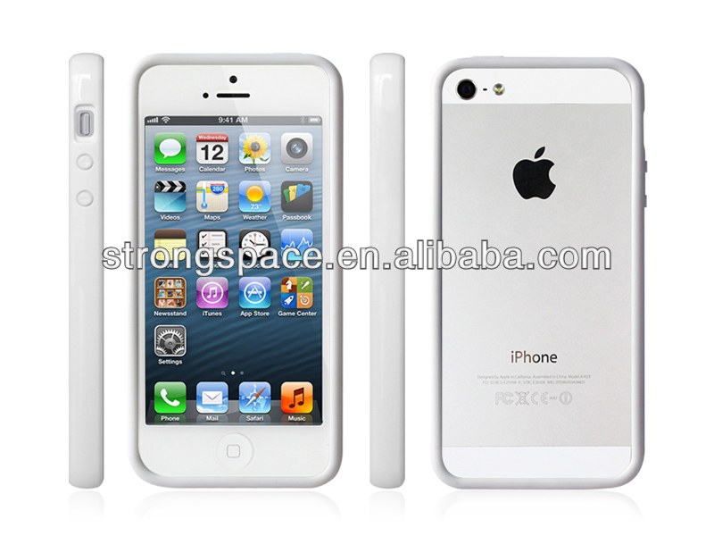 Factory direct sale bumper frame case for iphone5/5s