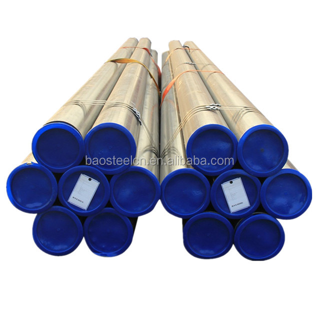 China Supplier SCH 40 Steel Pipe For Petroleum Thick Wall Steel Seamless Line Pipe made by baosteel