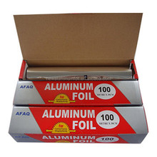 silver aluminum foil roll / catering foil paper for kitchen