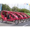 Electric Motorized 2 Seat Passenger Bike 3 wheel Electric Bike Taxi For Sale