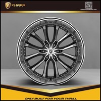 ZUMBO Z83 New Design Black Machine Face Car Alloy Wheels