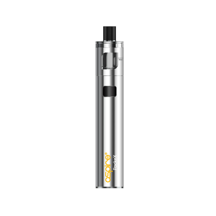 11732 Aspire PockeX AIO All in One Starter Kit Stainless Steel 1500mAh PockeX AIO