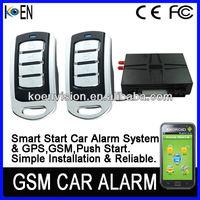 Strict Quality Control Smart Phone Car Alarm, GPS GSM Tracker, GPS Tracker Anti Jammer