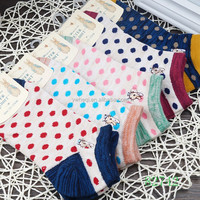 100% cotton very cheap womens designer 100 cotton socks