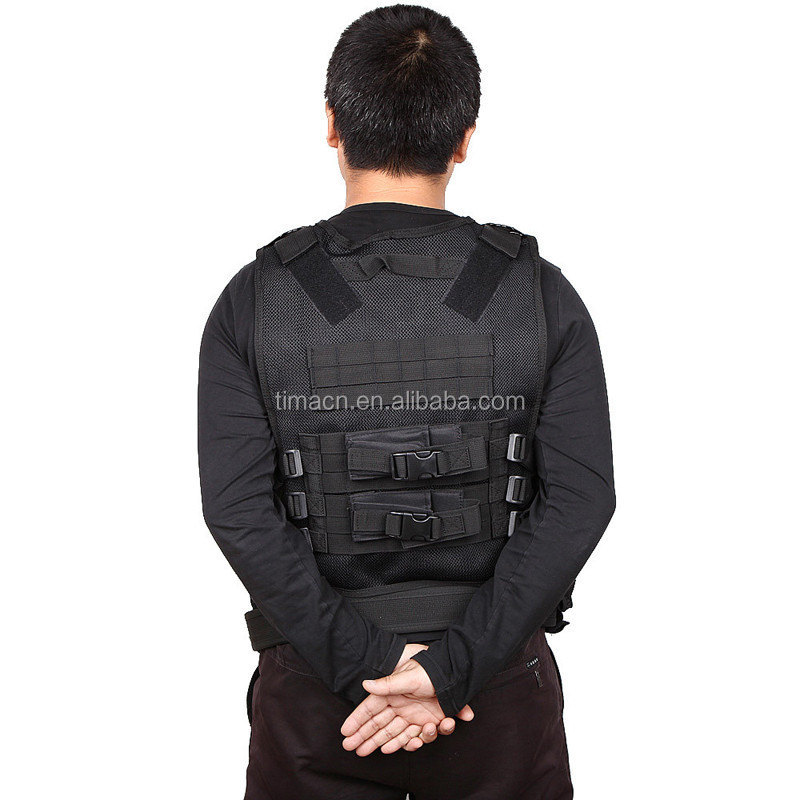 Logo Customized systerm vest tactical mesh webbing vest