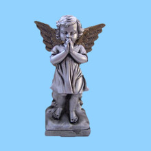 Praying baby brass Angel Figurines wholesale