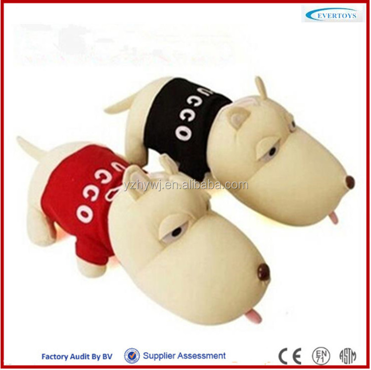 stuffed plush dog toy plush dog toy sleeping breathing toy dog