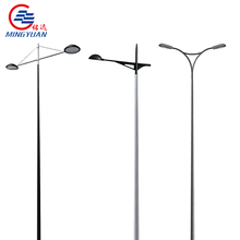 professional Galvanized steel light pole kw Q235 A595 factory direct sale