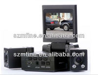 "Transformers dual cam car dvr 2.0"" tft lcd,8IR lights mini spy-camera"