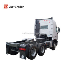 Prime mover connect with trailer sinotruk HOWO a7 371hp power trailer tractor truck head