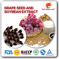 Private Label Natural Grape Seed Oil Soybean Extract Soft Capsules