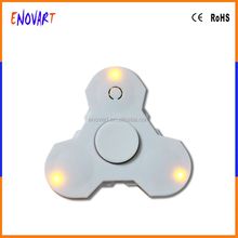 Glowing In The Dark Hand spinning top Tri Finger Tri-Spinner 3D EDC Ball Focus Toy For Relax Stress Kids/Adult Killing Time