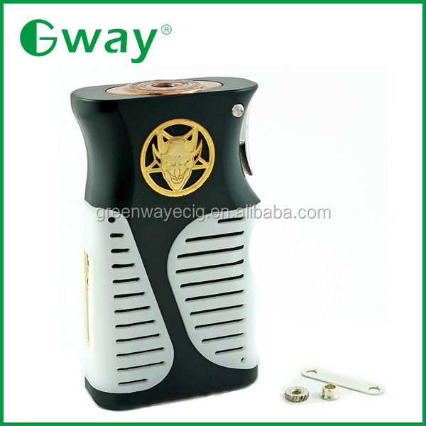 2015 Greenway Newest mechanical mod, Lucifer box mod vs shock and awe mod clone