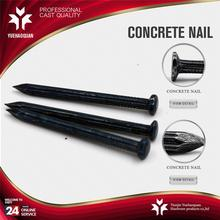 Hot selling angular spiral concrete nails galvanized steel price per ton with low price