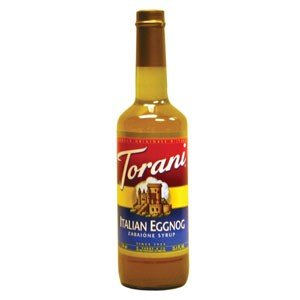 Egg Nog Italian Style Syrup Torani All Natural