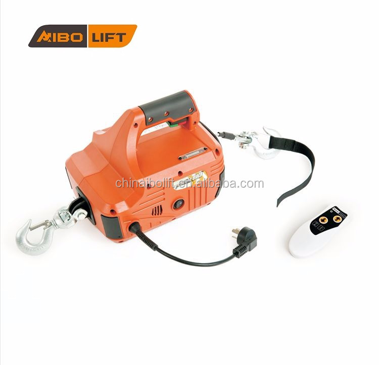 Portable Electric Winch 900 kg AC powered ATQ-02