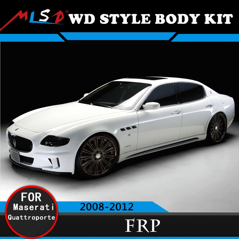 For Maserati Body Kit Sport Design Bumper Kit Styling For Maserati Quattroporte Body Kit