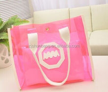 2015 cheap 2012 new design ladies bags/ customized packaging bag/ unique clear pvc bikini swimsuit ziplock bag