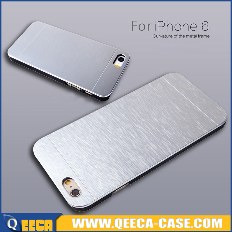 Hard protective metal case for iphone 6 6s,aluminum case for iphone 6 brushed metal case
