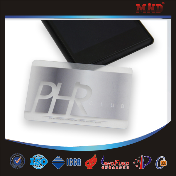 Mdc28 Clear Transparent Nfc Business Card Buy Clear