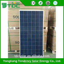 Economical high efficiency 5W to 300W cheap poly solar panel price