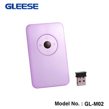 New Mini 2.4GHz Wireless Optical Pen Mouse Self-reacting DPI for PC Android Laptop Accessories Computer -Purple