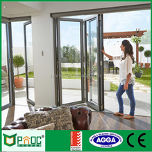 Australia Standard As2047 Aluminum Thermal Break Pivot Bi-folding Door With Import Hardware