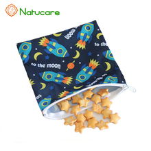 Wholesale Reusable Washable Stitch Waterproof Snack Bag Makeup