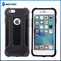 [Smart Times] China Supplier OEM Product Shockproof 2 in 1 TPU+PC Cover For IPhone 6 Combo Case