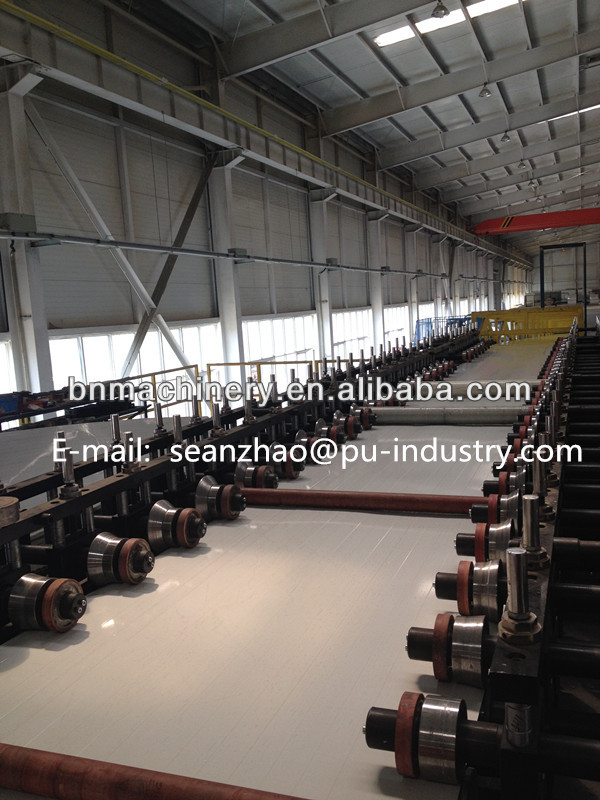 coldroom panel metal steel aluminum roll forming machine
