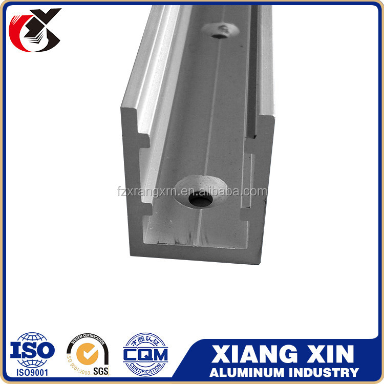 wholesaler shelf t6060 extrusion aluminum system construction metal profile