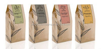 Food grade kraft paper coffee bag/ aluminum foil liner
