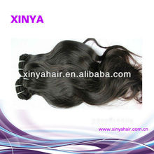 Finest quality cheap price wavy hair extension indian hair industries