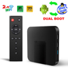 LibreElec TV BOX Android TV BOX Dual OS Android and Linux one key switch android 7.1 liunx 8.2.1