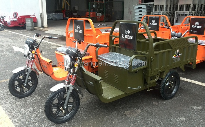 electric tricycle cabin cargo tricycle for sale /cheap price 48V/60V new adult electric cargo tricycle