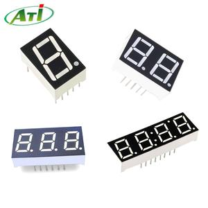 """7 segment led display, from 0.28"""" to 4"""", 1 to 6 digits segment digit"""