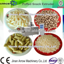 Industrial Twin Screw Extruded Snack Rice Cake Popping Machine