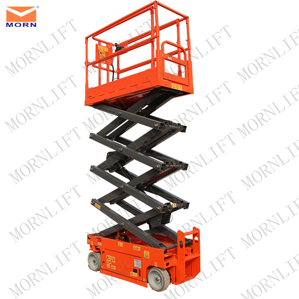 Self driven lift/ self propelled single person hydraulic lifts