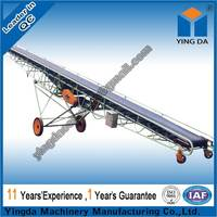 High quality slide sawdust belt conveyor